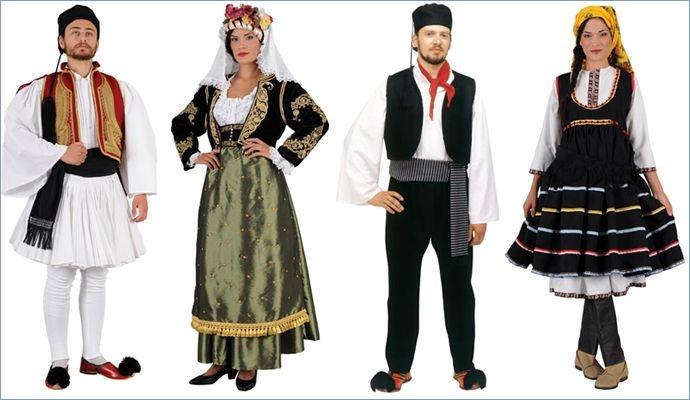 Конкурс: Лучшее представление национального костюма в Московском обществе греков