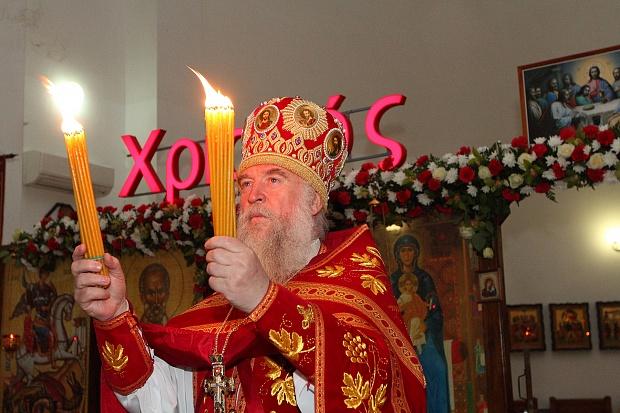 К началу Пасхальных богослужений Иван Саввиди доставил Благодатный огонь в Ростов-на-Дону