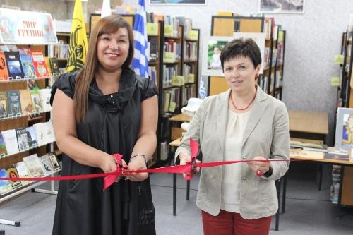Выставка «Удивительный мир Греции» открылась в Донской библиотеке