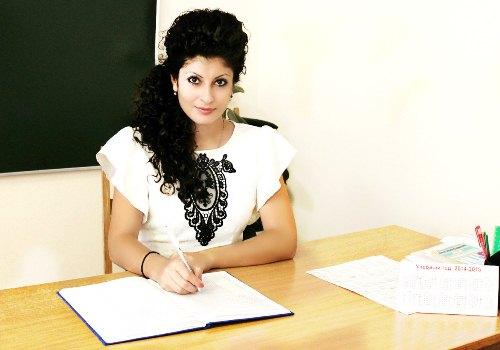 Знакомство с участниками молодежного конкурса «Лидер года». Мария Демирчева