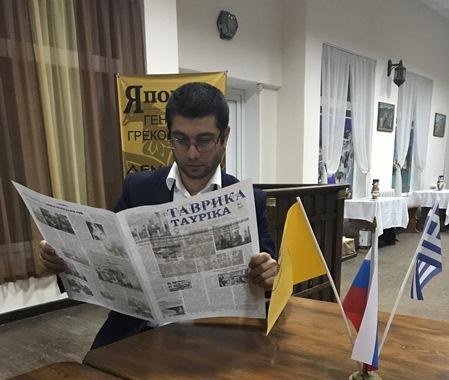 Знакомство с участниками молодежного конкурса «Лидер года».  Антип Котранов