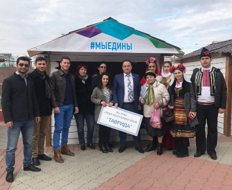 «Мосаико» и «Артемис» представили греков Крыма на фестивале