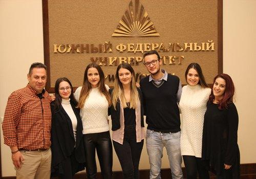 Студенты из Афин изучают в Ростове русский язык
