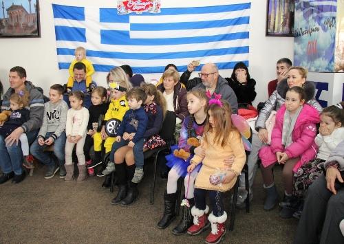 Дети Крыма научили олимпийских богов петь рождественские песни
