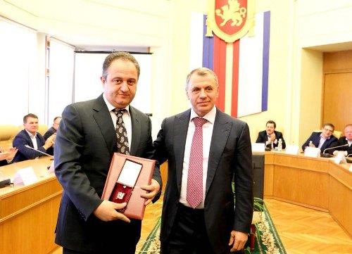 Лидер греков Крыма удостоен высокой награды