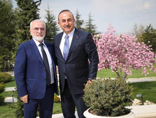 Иван Саввиди встретился в Анкаре с министром иностранных дел Турции Мевлютом Чавушоглу