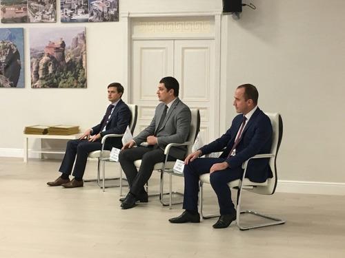 Рабочая встреча по реализации проекта «Золотое кольцо Боспорского царства» прошла в Греческом Культурном Центре Геленджика