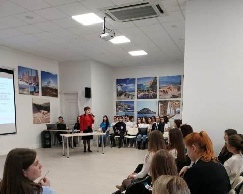 В Геленджике будущим студентам презентовали Финансовый университет