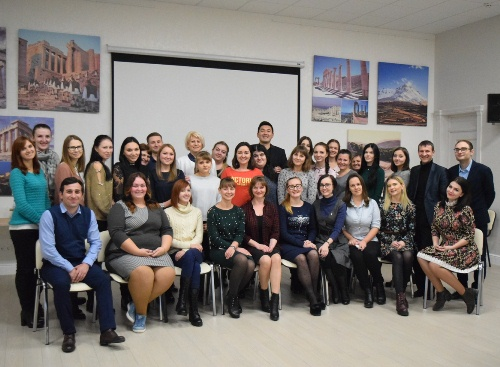 В Греческом культурном центре Геленджика прошел семинар «Школа молодого педагога»