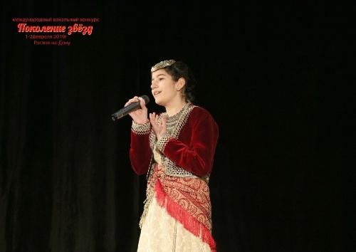 Школьница из Ставрополя Элени Хатзиди стала лауреатом Международного конкурса «Поколение звезд»