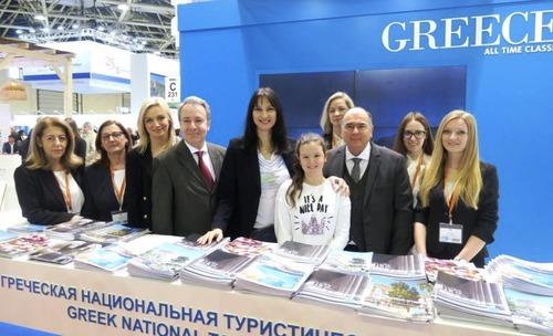 Награды за презентабельность удостоен Греческий стенд на 26-ой Московской международной туристической выставке