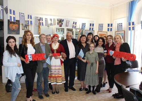 Медики Ростова-на-Дону побывали на Дне открытых дверей в офисе греческой диаспоры города