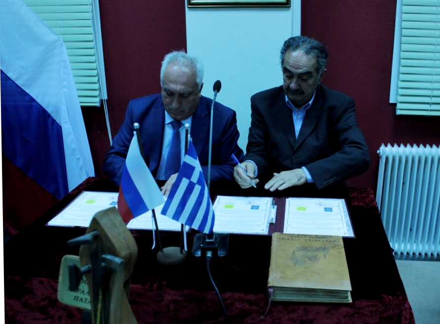 Греческие общественные организации  Геленджика и Катерини стали побратимами