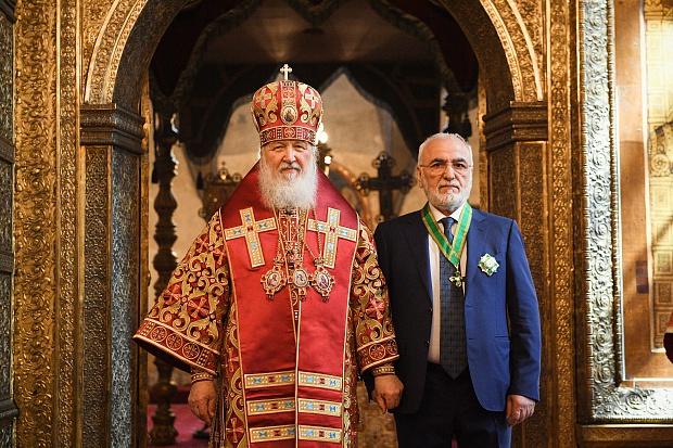 Иван Саввиди награждён орденом преподобного Сергия Радонежского II степени