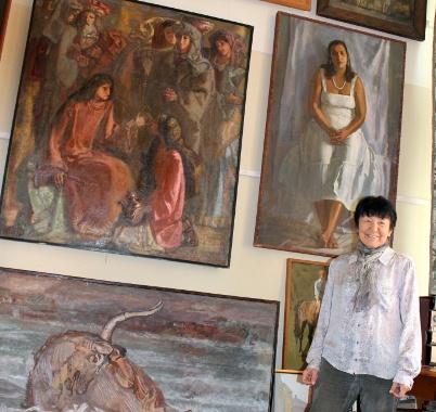 Альбина Акритас: Я пишу сердцем…а сердце мое в Греции