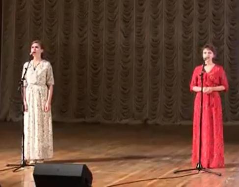 Время героев. 75 лет спустя:  Анастасия и Елизавета Харалампидис