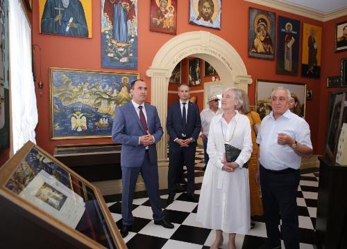 Визит Посла Греческой Республики в России в Геленджик