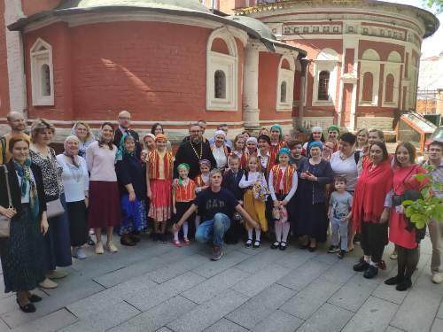 В Школе греческого языка Московского общества греков закончился учебный год