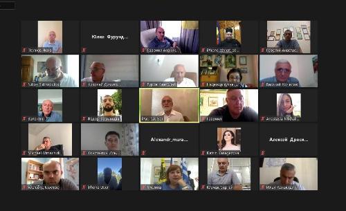 Состоялось расширенное онлайн-заседание Совета ФНКА греков России