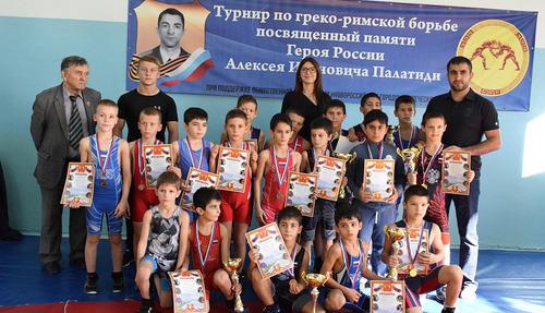 Спортивные турниры памяти Алексея Палатиди прошли на малой родине героя