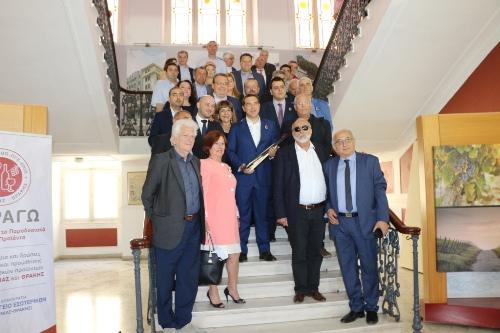 Премьер-министр Греции встретился с представителями понтийских организаций и кафедры понтийских исследований университета им. Аристотеля