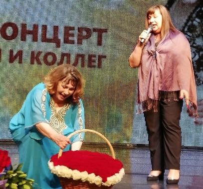 Юбилейный концерт Заслуженной артистки России Ксении Георгиади прошел в Москве