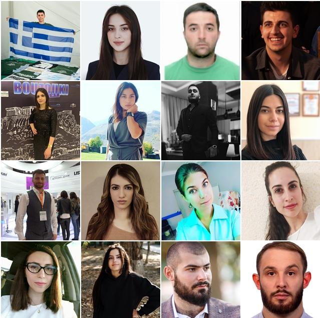 Знакомьтесь: кандидаты в руководящие органы Совета молодежи ФНКА греков России 2020-2025