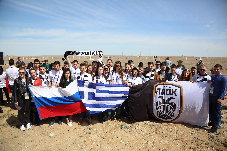 Η νεολαία της Ρωσίας στο Μπαϊκονούρ, 20 Απριλίου 2017