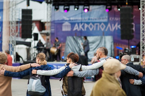 "Festival of Greek culture ""AKROPOLIS"" in Moscow September 16, 2017"