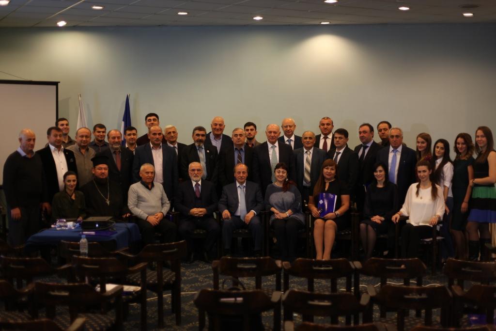 Расширенное заседание Совета АГООР и ФНКА греков России, г. Москва, 29 октября 2017