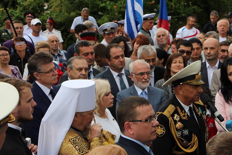 Opening of the Emperor Nicholas I Greek Legion monument in Sevastopol in 2016