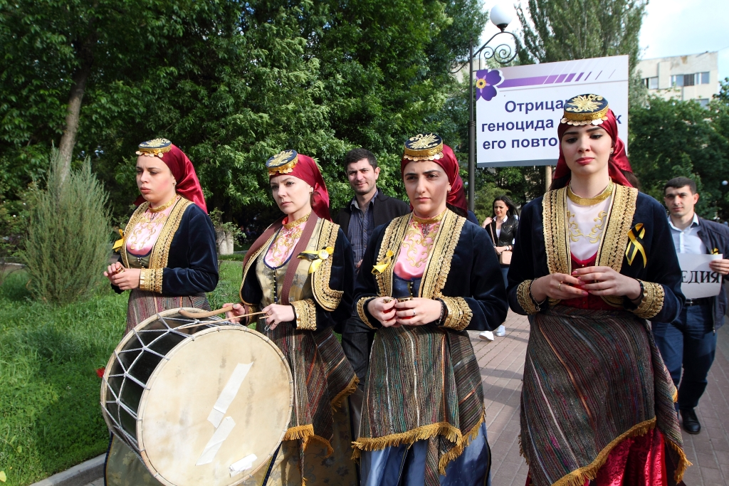 A Day of Remembrance for Pontian Greeks Genocide in Rostov-on-Don May 19, 2016