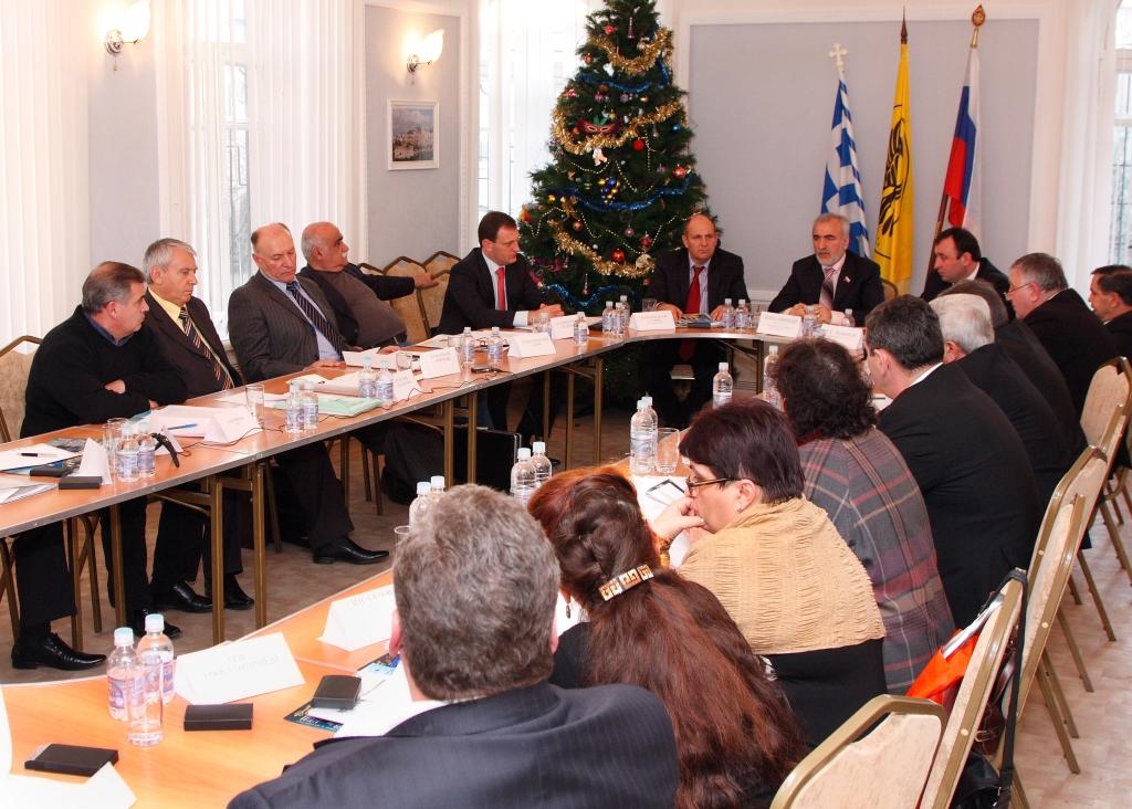 2009 год. Отчетный съезд Совета АГООР в г. Ростове-на-Дону