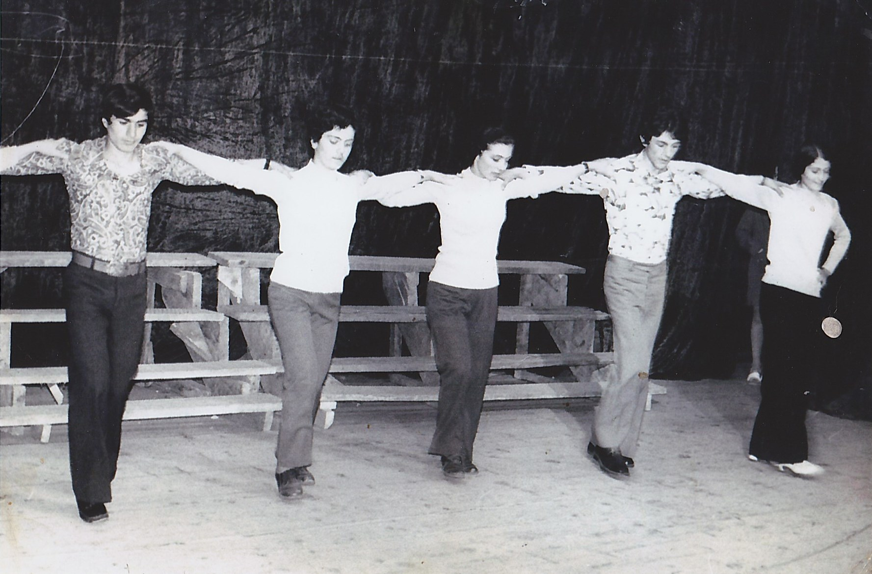 Репетиция понтийского танца с. Цихисджвари (Грузия)
