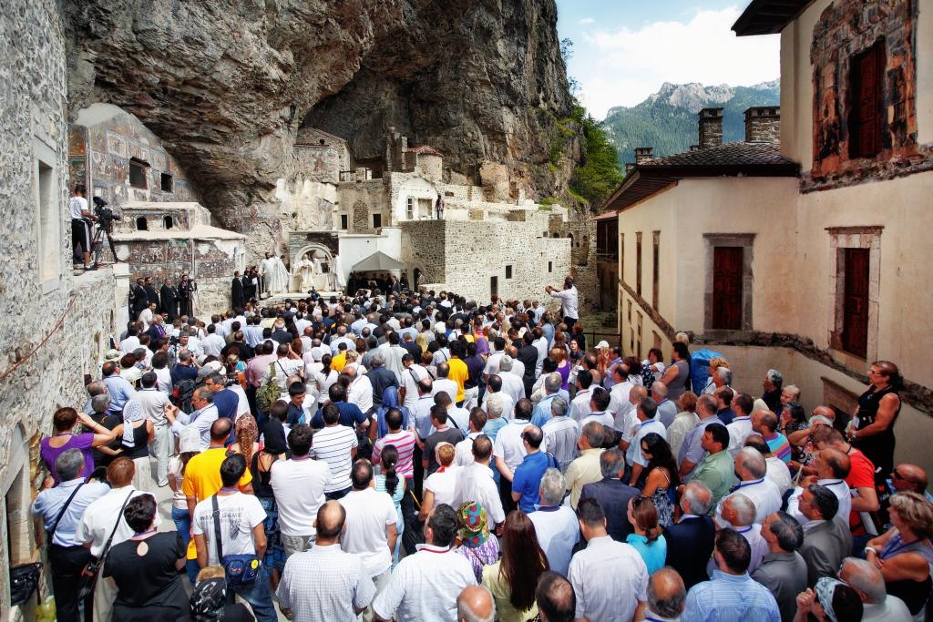 2009 год. Паломничество в монастырь Панагия Сумела