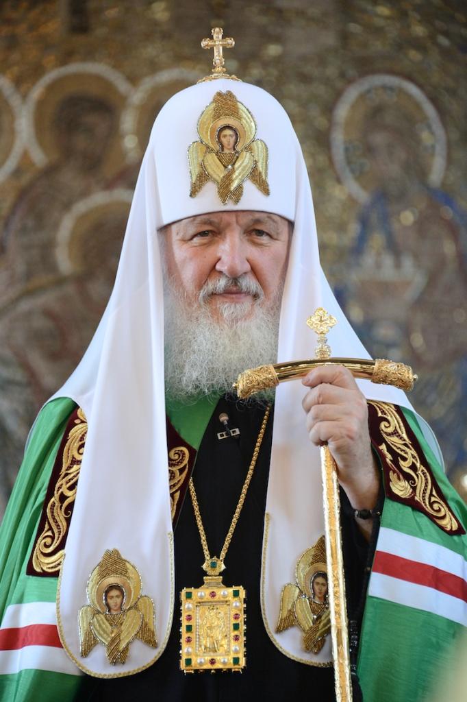 Его Высокопреосвященство Патриарх Московский и всея Руси Кирилл