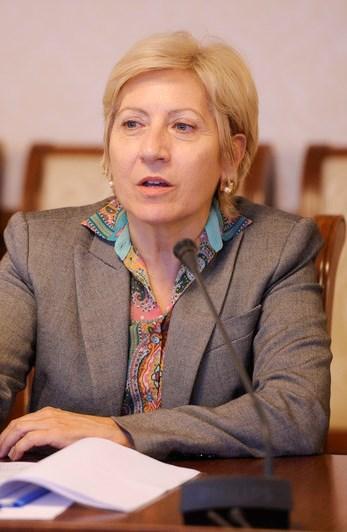 Чрезвычайный и Полномочный Посол Греческой Республики в Российской Федерации Данаи-Магдалини Куманаку