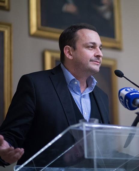 Директор секретариата по делам греков зарубежья Михалис Коккинос