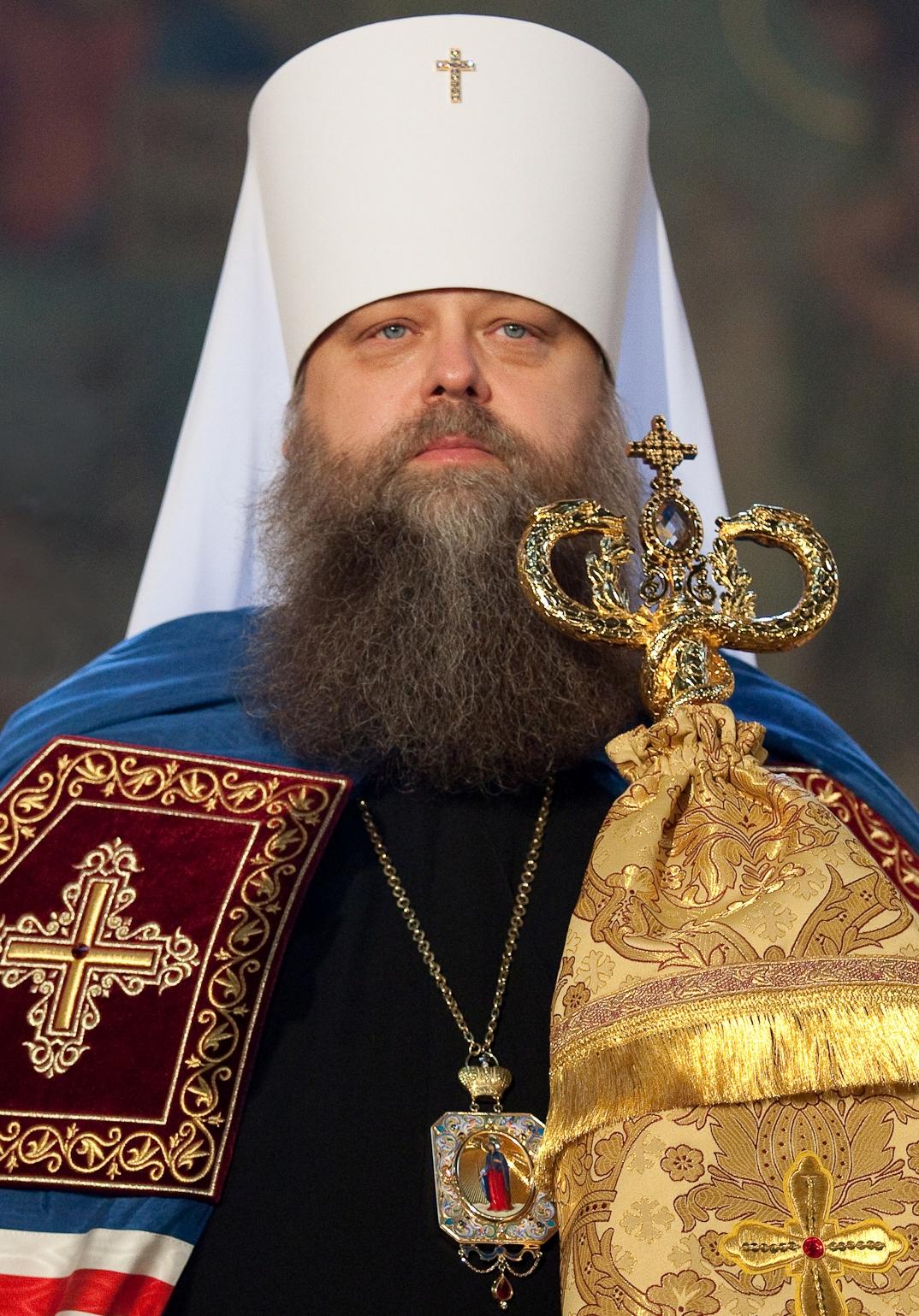 Его Высокопреосвященство Митрополит Ростовский и Новочеркасский Меркурий