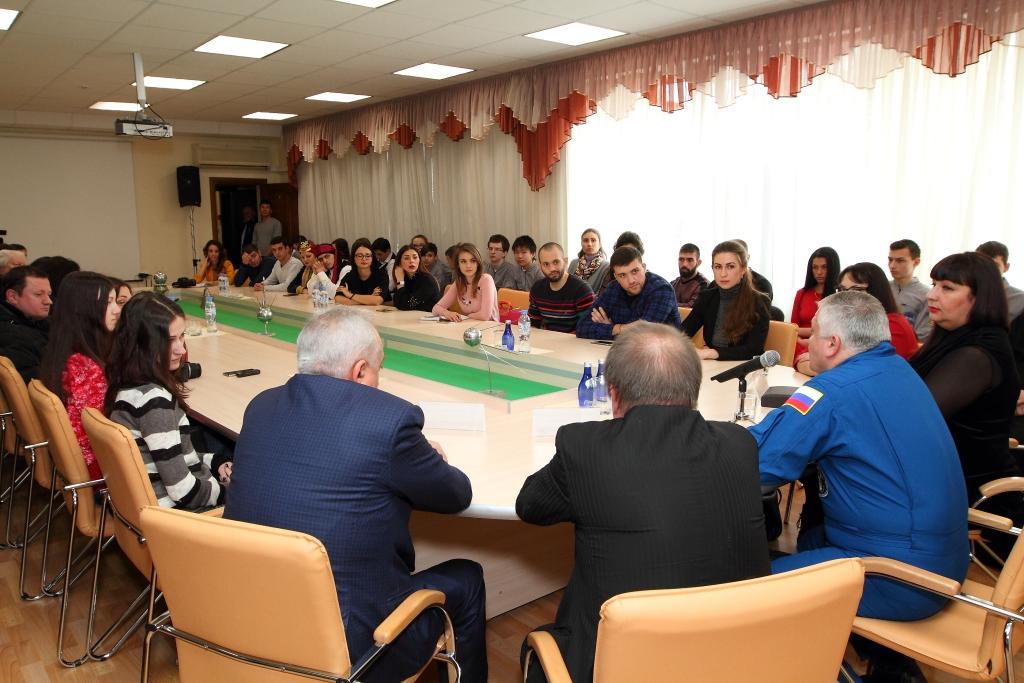 Круглый стол с участием Федора Юрчихина