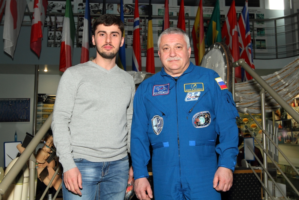 Ф.Н.Юрчихин и Михаил Катанов, г. Железноводск