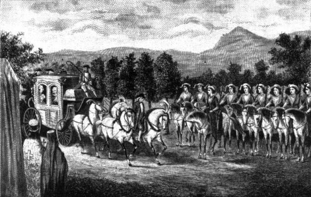 Амазонская рота - подразделение русской армии, которое было создано в Крыму в апреле 1787 года по приказу Потёмкина для встречи императрицы Екатерины II. Амазонская рота была составлена из ста благородных жён и дочерей балаклавских греков