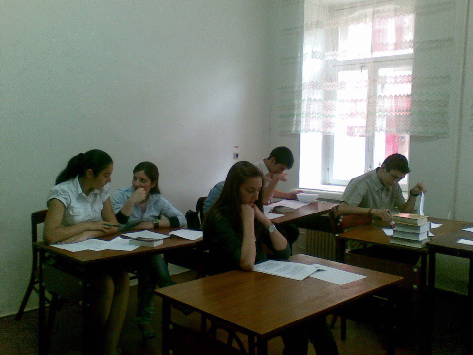 Уроки языка в греческой школе