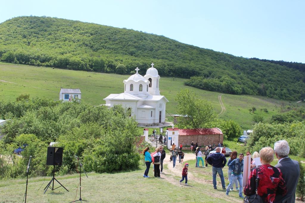 Восстановленный храм Евангелиста Луки