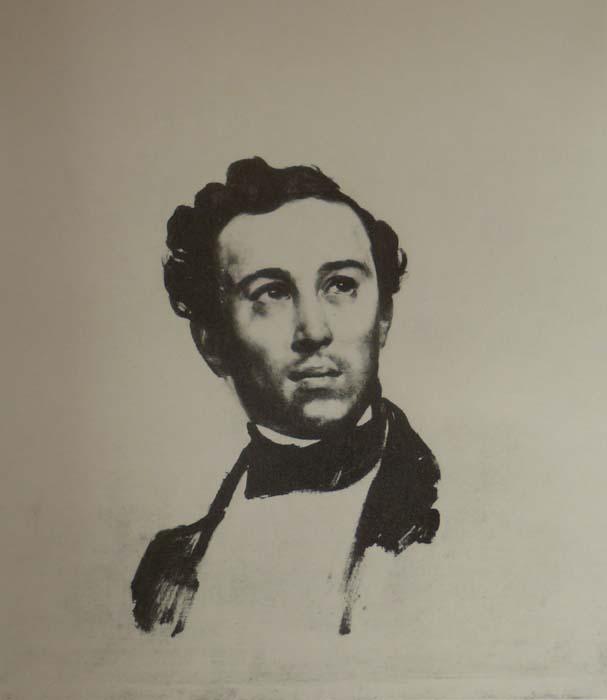 Портрет Н.Алфераки. Карл Брюллов, 1842 г. Государственный музей искусств, Минск