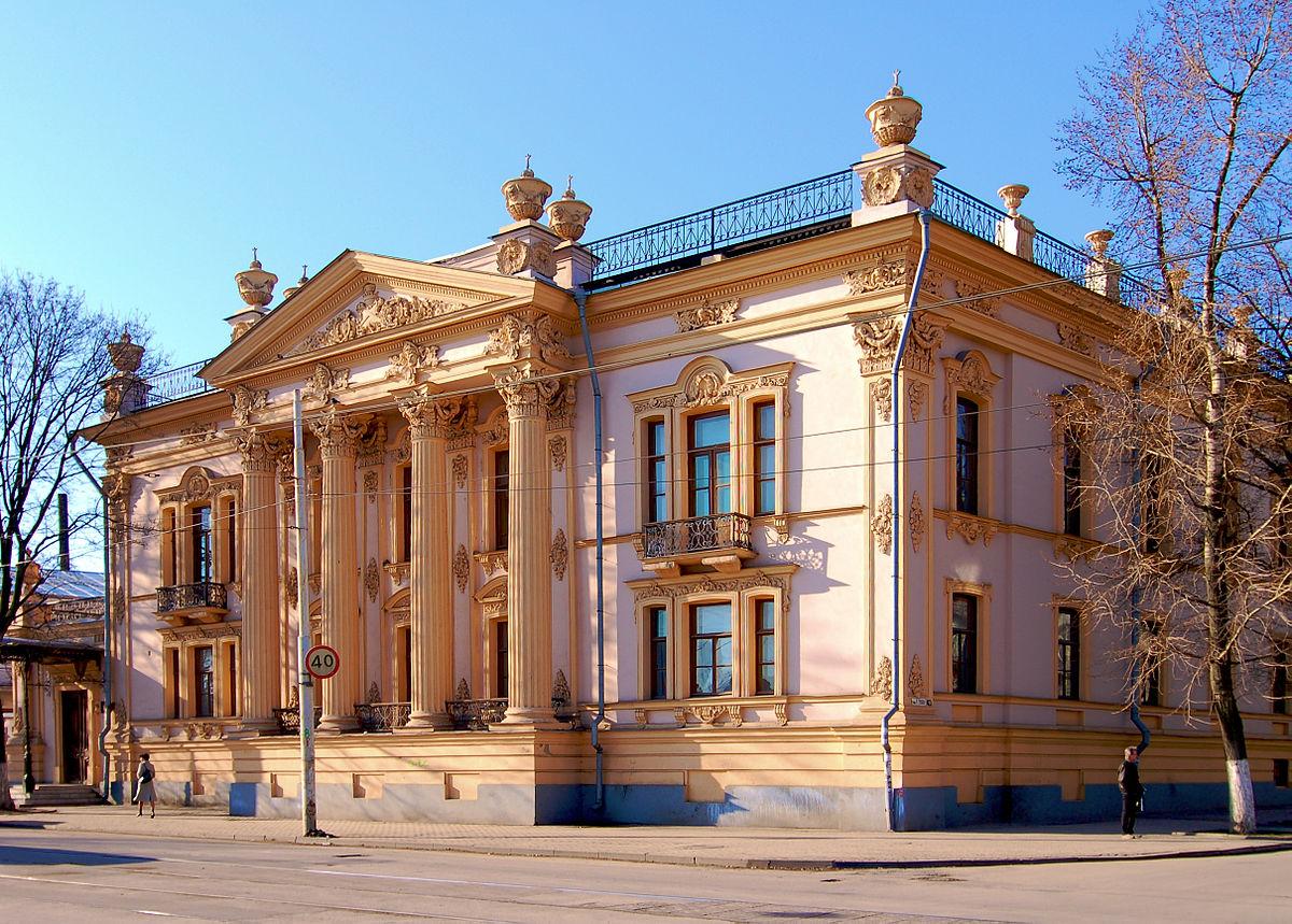 Историко — краеведческий музей Таганрога (Изначально дворец Алфераки)