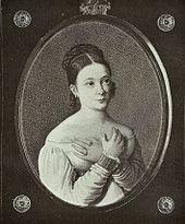 Жена Катакази Гавриила Антоновича - Софья Комнено, портрет