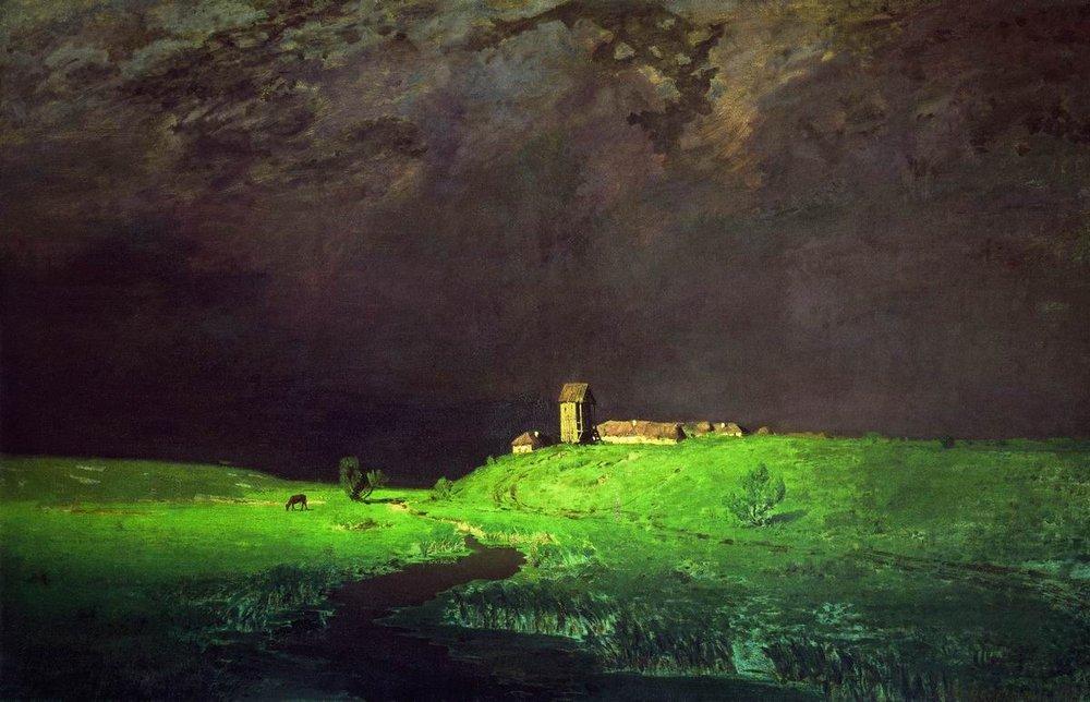 «Μετά τη βροχή», Αρχίπ Κουίντζι, 1879