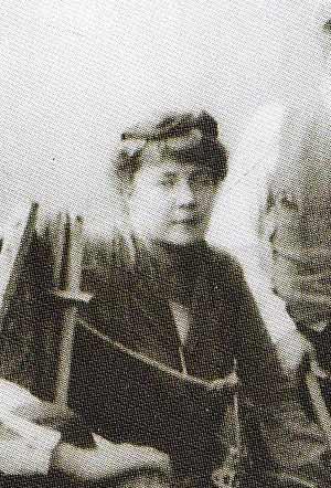 Όλγκα Χειμώνα, η γυναίκα του καλλιτέχνη