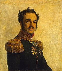 Иван Осипович де Витт. Худ. Дж. Доу, 1820 г.